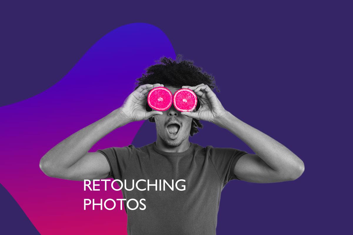 Retouching Photos